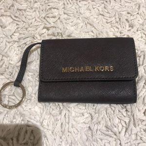 Authentic Michael kors Keyring wallet like new